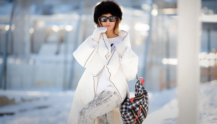 Пуховик-одеяло: с чем носить? Модные образы 2020