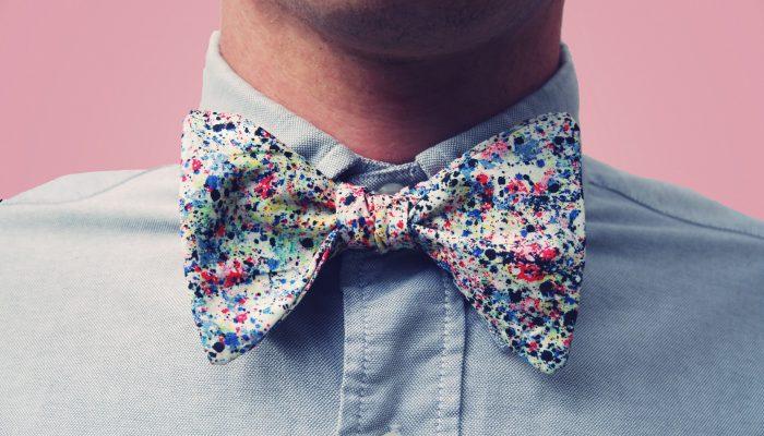 Как правильно носить бабочку с рубашкой: мода 2020