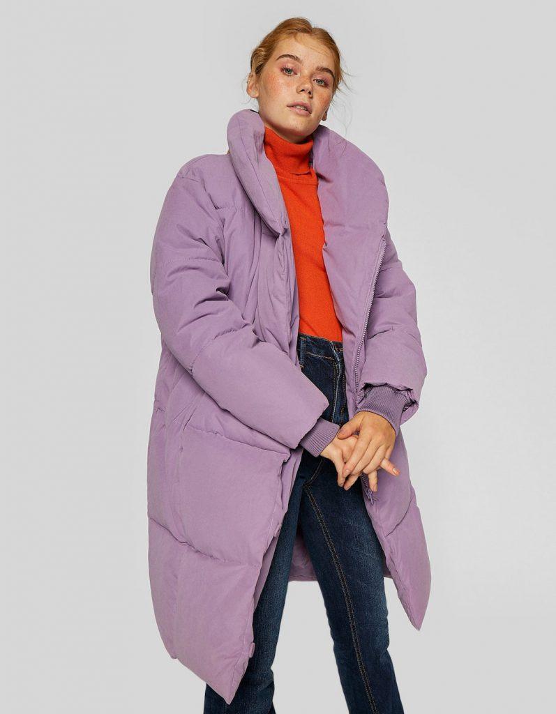 Цветной пуховик-одеяло