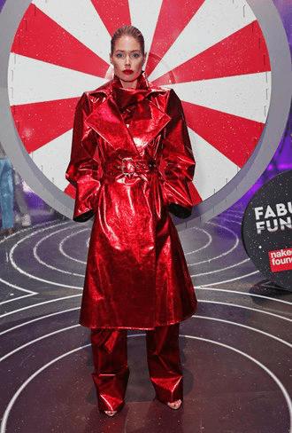 Красный тренч на Даутцен Крез
