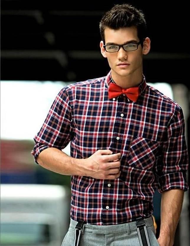 Как носить галстук бабочку : повседневный стиль